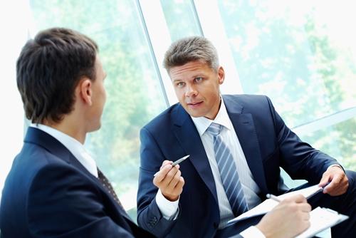 zakenmensen, werkgevers
